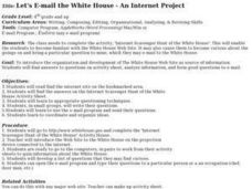 Let's E-mail the White House - An Internet Project Lesson Plan