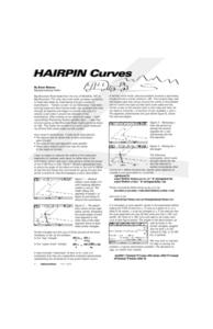 Haripin Curves Lesson Plan