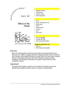 Who's in the House Lesson Plan
