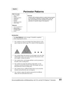 Periemter Patterns Lesson Plan