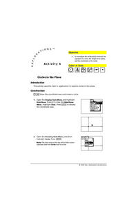 Circles in a Plane Lesson Plan