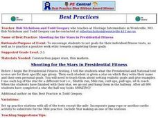 Shooting for the Stars in Presidential Fitness Lesson Plan
