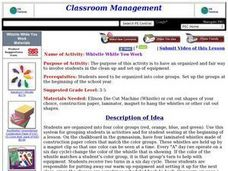 Whistle While You Work Lesson Plan