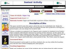 Tigger Tag Lesson Plan