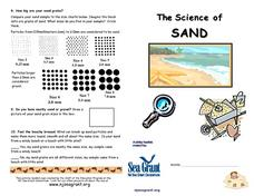 The Science of Sand Lesson Plan