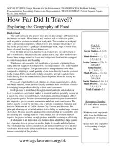 How Far Did It Travel? Lesson Plan