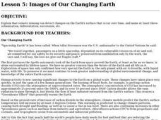Images of Our Changing Earth Lesson Plan