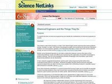 Chemical Engineers and the Things They Do Lesson Plan