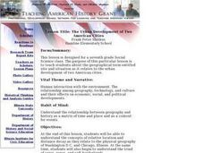 The Urban Development of Two American Cities Lesson Plan