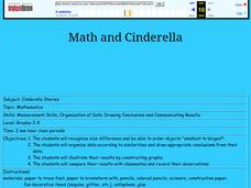 Math and Cinderella Lesson Plan