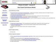 How Credit Card Interest Works Lesson Plan