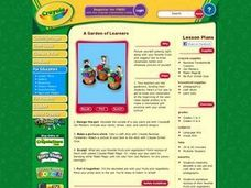 A Garden of Learners Lesson Plan