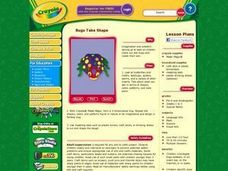 Bugs Take Shape Lesson Plan