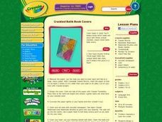 Crackled Batik Book Covers Lesson Plan