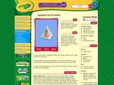 Egyptian Fact Pyramids Lesson Plan