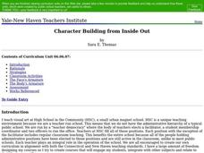 Character Building from Inside Out Lesson Plan