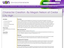 Character Creation Lesson Plan