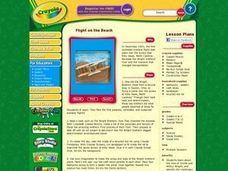 Flight on the Beach Lesson Plan