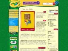 Food Bank Mobile Lesson Plan