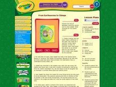 From Earthworms to Chimps Lesson Plan