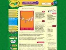 Harvest Food Garland Lesson Plan