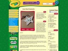 Lacy Clay Ornaments Lesson Plan