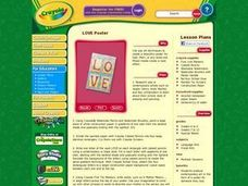 LOVE Poster Lesson Plan