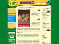 Magnificent Sphinx & Pyramid Lesson Plan