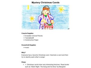 Mystery Christmas Carols Lesson Plan