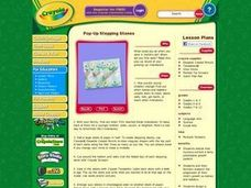 Pop-Up Stepping Stones Lesson Plan