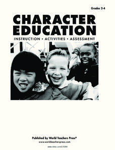 Character Education Worksheet