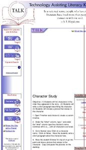 Character Study Lesson Plan