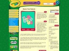 Rhyme Time Flipbook Lesson Plan