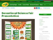 Sensational Science Fair Presentation Lesson Plan
