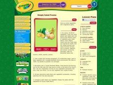 Simply Salad Poems Lesson Plan