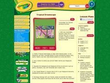 Tropical Dreamscape Lesson Plan