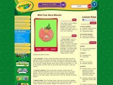 Whirl Your Word Wheelie Lesson Plan Lesson Plan