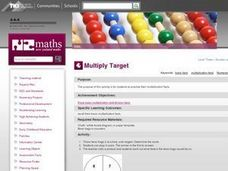 Multiply Target Lesson Plan