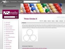Three Circles II Lesson Plan