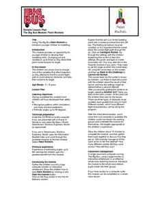 Balloon Rocket Experiment Lesson Plans & Worksheets