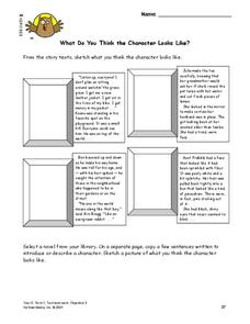 Characterization Lesson Plan