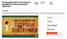 The Egyptian Book of the Dead: A Guidebook for the Underworld Video