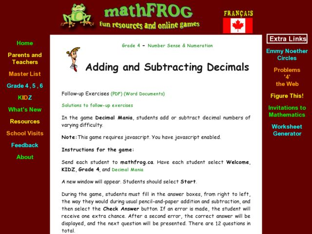 Adding & Subtracting Decimals Lesson Plan for 5th - 8th ...