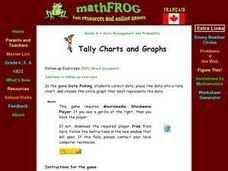 Tally Charts and Graphs Lesson Plan