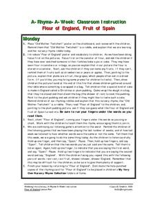 Flour of England, Fruit of Spain Lesson Plan
