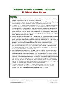 If Wishes Were Horses Lesson Plan