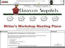 Meeting Place Lesson Plan