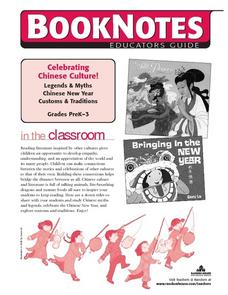 Celebrating Chinese Culture:  Legends & Myths, Chinese New Year, Customs & Traditions Lesson Plan