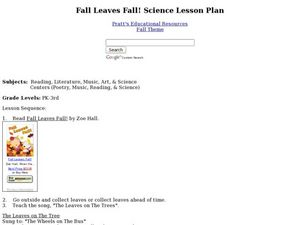 Fall Leaves Fall! Lesson Plan