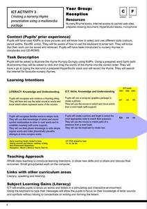 ICT Activity 3 Lesson Plan